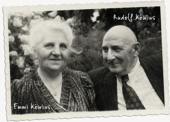 Rudolf und Emmii Köwius